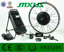 500w/1000w MXUS electric bicycle conversion kit off road