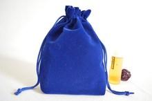 High Quality Custom Velvet Gift Bags /Velvet Gift Pouches/ Velvet Drawstring Pouch Bag