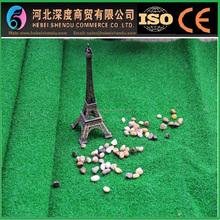 artificial football grass with gravel base