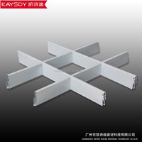 white Grid Aluminium Ceiling For Architectural Ceiling System