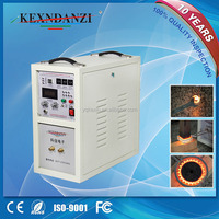 18KW KX5188-A18 induction melting machine for gold/silver/copper/alloy