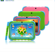 """Kids Education Original iRulu Brand 7"""" Tablet PC for kids Quad Core Dual Camera A7 Android 4.4 8GB Free Game Learn Grow Play"""