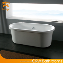 CRW DF1605 Indoor Freestanding Small Size Bathtub for Soaking