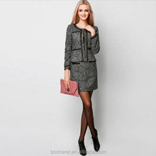2015 High quality lady career office uniform woman suit