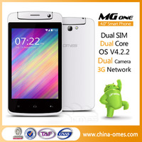 OMES MG1 4inch Dual Core camera with sim card 3G download free games For Sale