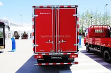 Foton Aumark cargo truck especially for Russia,mini van refrigerated