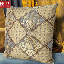 European style Retro Embroidered Decorative Throw Pillow