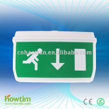 ip65 20pcs SMD 2835 LED fire safety exit signs emergency warning light