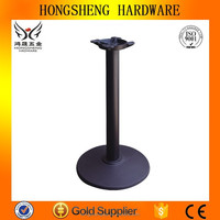 Hot sales hongsheng brand HS-A001 classical removable table leg for glass table