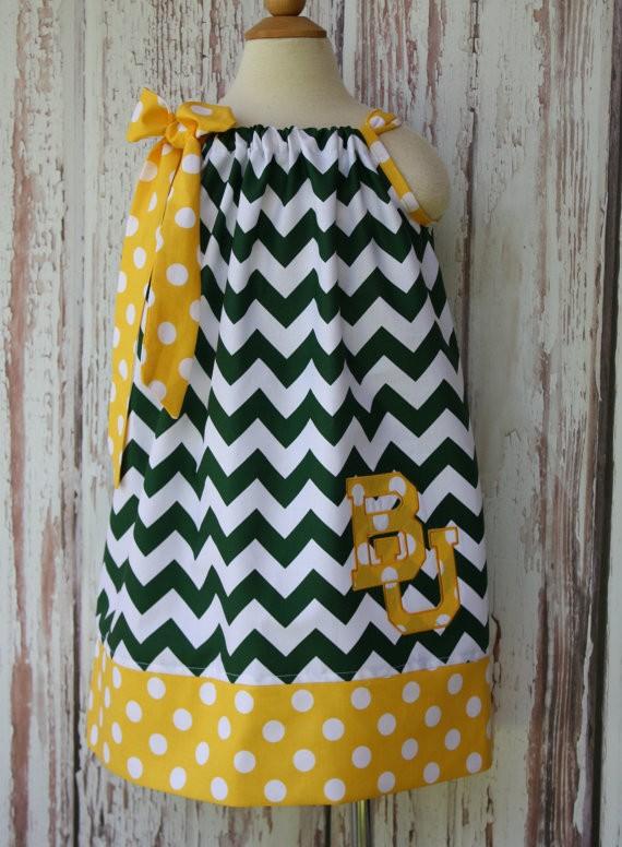 OEM Cheap Summer Pillowcase Dress Chevron Monogrammed Latest Dress Designs