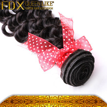 brazilian human hair wet and wavy weave deep wave human hair for braiding