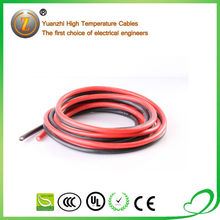 High Flexible AC 10KV Silicone Rubber Insulated Copper Cable for Motor