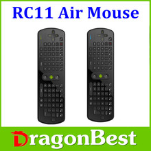 RC11 Fly Air Mouse and mini Wireless Gaming Keyboard 2.4GHz Remote Control sale mini wireless keyboard