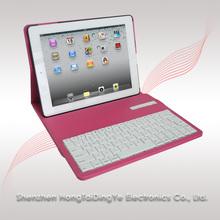 Wireless Detachable Bluetooth Keyboard Case for iPad - 360 Degree Rotating