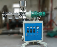 lab twin screw extruder machine, mini plastic extruder