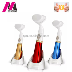 Electric sonic facial cleaning brush /Skin Care brush Facial Cleanser(OEM beauty home equipment)