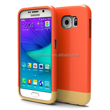 2015 New style fashion PC+TPU double protetive cell phone case for Samsung S6 CO-MIX-9022