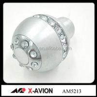 stock aluminumbdiamond shift gear knob