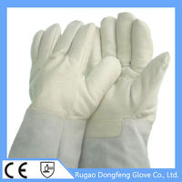 high quality Liquid Nitrogen/Dry ice/Cold storage Liquid Nitrogen Protective Gloves for Biomedical laboratory research/ industri
