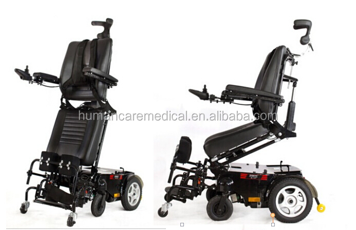 Luxury and comfortable standing wheelchair standing power Luxury wheelchairs