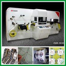 máquina de corte por láser etiqueta