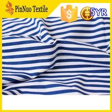2015 hot sale high quality stripe mesh football jersey fabric for t shirt garment