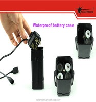 Waterproof rechargeable 4*18650 battery pack for bicycle headlight