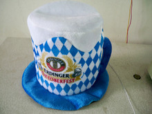 factory supplier different material/design carnival top hat for oktoberfest/St . Patrick's Day