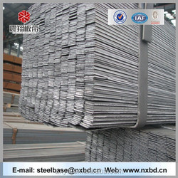 building materials high quality Q235 hot rolled flat bar