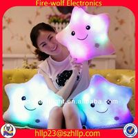 New producnt for gift dolphin pillow china led light pillow led light up pillow for home decorter manufacturer