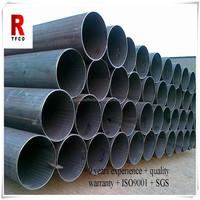 Steel fluid tube, conduit pipe