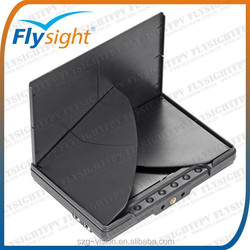 G1746 Flysight black pearl RC801 no blue screen 7 inch 5.8G 32ch hdmi diversity fpv monitor with