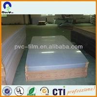 0.05mm~6.5mm rigid clear plastic roll/pvc film/ pvc rigid sheet