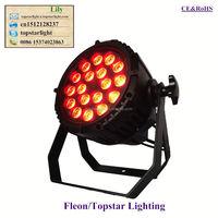 DMX512 sound actived ip65 waterproof 18 pcs 4in1 led par light