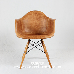 Luxury Eames Chair Covered Leather