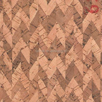 RQ-TX35 cheap Tela de corcho cuero cork leather fabric