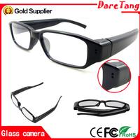2015 New Products High Quality Glasses Mini camera case 1080p Full HD Double-Button mini camera spy