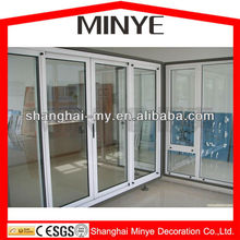 interior PVC frame glass sliding doors in office/cheap sliding doors
