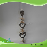 factory heart wooden decoration pieces