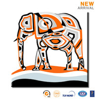 High Quality Home Decor Elephant Cartoon Animals Painting