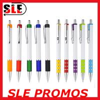 plastic retractable ballpoint pen promotional logo custom pen for advertising