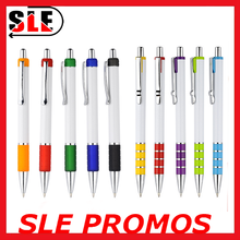 plastic retractable ballpoint pen promotional logo custom pen for advertising