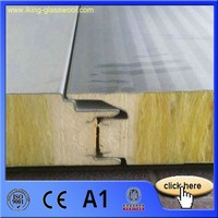 Roof Glass Wool Sandwich Panel Installation