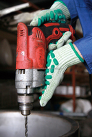 safety high impact gloves shock resistant
