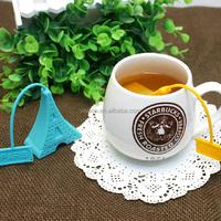Professional tea infuser silicone with FDA LFGB certification