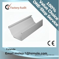 factory roof drain system pvc drain sysytem pvc greenhouse gutter