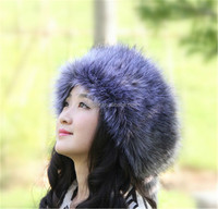 Fashion fox fur hat / fox fur hat / fox fur for women's clothing
