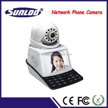 Network phone camera tft lcd color cctv camera monitor office equipment p2p wifi camera