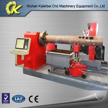 KING CUTTING brand Chinese wuhan factory directly sale KCG model pipe cnc aluminium profile cutting machine