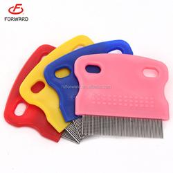 portable Clean and Healthy dog flea comb pet flea comb